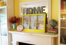 Making a House into a Home / Ideas for design and decorating / by Jennifer