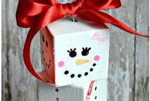 Winter Holiday Crafts / Crafts for the winter! And winter holidays, like Christmas, Hanukkah, New Years, etc.