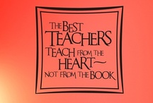 From one Teacher to another / by Crystal Gregg