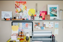 WORK SPACE / Office spaces, organizational tips, and necessary gadgets / by Anastasia Casey