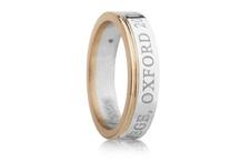 Eva & Eva Oxford / Eva's personalised graduation rings are perfect for celebrating a graduation.
