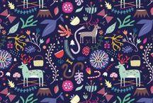 Prints, Colours, Textiles, Textures, Surface