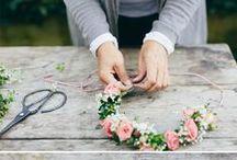 DIY . b l u m e n / DIY Ideen mit Blumen.