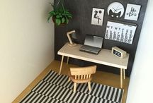 Miniatyrer - Kontor