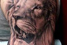 Tattoo-Tygrys,Lew