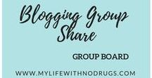 Blogging Group Share / A place for bloggers to share their own posts - food and drink, lifestyle, blogging and social media tips, travel, home decor and interior design, parenting...All topics welcome! Repin 1 post for every Pin you add.  TO BE INVITED:  1. FOLLOW ME https://www.pinterest.com/mylifewithnodru/   2. Email me through a contact form on  https://mylifewithnodrugs.com