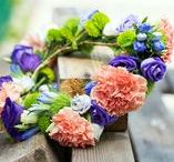 Fleurop * Haarkränze / Florale Blumenkränze
