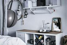 Hemmagym / Bygg ditt egna gym hemma. Mängder med tips på hur du anpassar och fixar ett eget hemmagym. Inredning, utrustning och praktisk förvaring av redskap i träningsrummet.