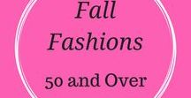 Fall Fashions 50 and up / Fall fashion trends and fashionable clothes for women over 50