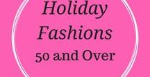 Holiday Fashions 50 and Up / fashion tips, trends, and products for holiday season, Christmas and New Year for women over 50