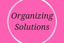Organizing Solutions / Organizing Solution ideas geared towards empty nest