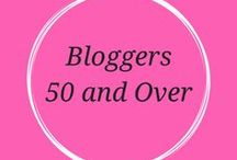50 and up bloggers / websites and pinterest boards for bloggers who specialize in fashion and lifestyle over 50 and over 40