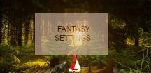 Storyboard: Fantasy Settings / World Building your novel? I have collected many great ideas for a Fantasy Setting.