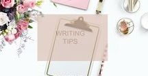 Writing Tips / I have collected many Writing Tips to help me as I write my novel.