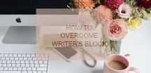 How To Overcome Writers Block. / Got Writers Block?  We can all suffer from this form of torture. Here are some great tips to help.