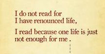 Quotes about reading / Quotes about reading and books