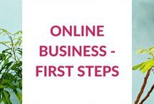 ✺ Online Business - First Steps ✺