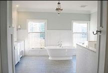 Bathrooms / by Cortney { Faith. Home. Love.}