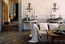 HOME DECORATION / Décoration intérieure / Styles : Hamptons style, Campagne chic, Château