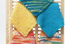 Beginners Knitting Patterns / Easy knitting patterns suitable for children to knit. / by Rainbow Creations