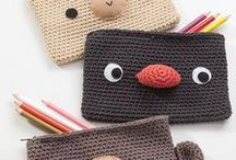 Crochet for Children / Simple crochet tutorials and instructions for children beginning to learn crocheting / by Rainbow Creations