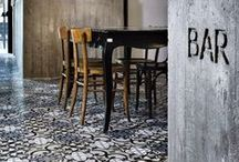 Tile + Stone in Restaurants/Bars / Highlighting amazing tile + stone installation and design in restaurants and bars around the globe.