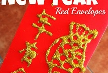 Chinese New Year Crafts for Children / Ideas for Chinese New Year Crafts for children. 2017 Chinese New Year - Year of the Rooster. Chinese lanterns, Rooster Crafts, Dragon Crafts, Chinese New Year art activities for children