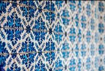 Beautiful Blue / the color blue is timeless and sets a beautiful tone in tile and stone