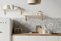Tiled Backsplashes / Adding a tiled backsplash to your kitchen is the perfect final touch to make it both stunning and practical