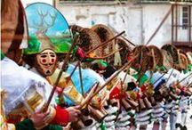 ENTROIDO 2014 - OURENSE / Cartaces e programación dos entroidos da xeografía de Ourense. 2014