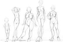 sketching: people