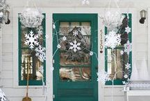 Winter Decorating Ideas / Winter themed Decor items to inspire and help you make your home cozy!  Mostly Handmade and many things from Etsy Artists too.