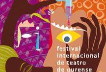 Ourense - Outubro 2014 / Cartelería. Ourense - Outubro 2014 // Octubre 2014