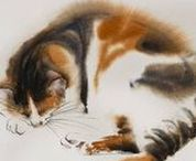 Illustrations & Cat Art =^.^= / Drawings~Illustrations~Cat Art