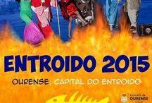 ENTROIDO 2015 - OURENSE / Cartaces e programación dos entroidos da xeografía de Ourense. 2015