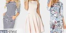 Štýlové dámske šaty - Stylish women dresses / Moderné a trendy šaty, štýlové modely pre náročné dámy.