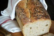 PRZEPISY - CHLEB / od zakwasu do chleba; przepisy, porady,,,