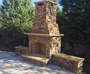 Our Outdoor Fireplaces and Firepits / Southern Scape, LLC creates exquisite landscapes, outdoor living spaces, waterscapes, and sanctuaries. Call us for a quote!