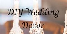 DIY Wedding Decor / Fun, easy, and inexpensive DIY projects for your wedding decor!