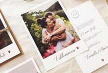 Rustic wedding invitations / Rustikke bryllupsinvitasjoner Rustic wedding invitations