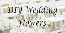 DIY Wedding Flowers / There are 100s of ways to DIY your wedding, one of the most popular is floral arrangements because of the cost associated with hiring a florist. It's important to keep in mind that there's a reason floral arrangements cost a pretty penny - there's a lot of work and experience required to make beautiful arrangements. If you choose to DIY your flowers, try to do a practice run or two to ensure you're going to be happy with your DIY bouquet