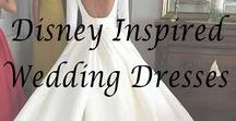 Disney Inspired Wedding Dresses / Imagining what the ladies of Disney would wear if they were to have their dream wedding in read life. From elegant ball gowns for Cinderella to simple fun dresses for Rapunzel, we want to get all these beautiful women ready for their wedding day.