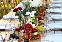 Fall weddings / Some people have weddings in the fall, some have fall weddings, this is for the later. People who long to incorporate the falling leaves, plentiful harvest, and the deep, rich colours the season has to offer!