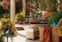 Outdoor Spaces / fun, cozy and relaxing areas / by Roxanne