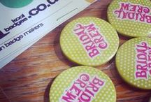 Button Badges / by Lets Talk Beauty
