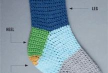 My ❤ For Crochet Socks / by Michelle Eames