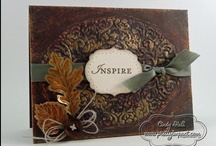All Autumn / Anything fall-themed made with Stampin' Up! product