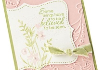 Simply Spring / Soft colors and spring holiday images - all from Stampin' Up! of course!