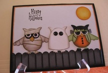 Happy Halloween! / Stampin' Up! Halloween projects