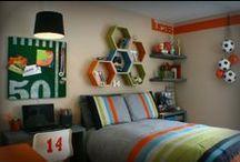 <3 BoY'S BeD&BaTh / Cool  Ideas for our little men:)